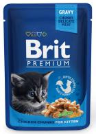 BRIT cat   kapsa  KITTEN  100g
