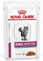 Royal Canin Veterinary Diet Cat RENAL with FISH kapsa