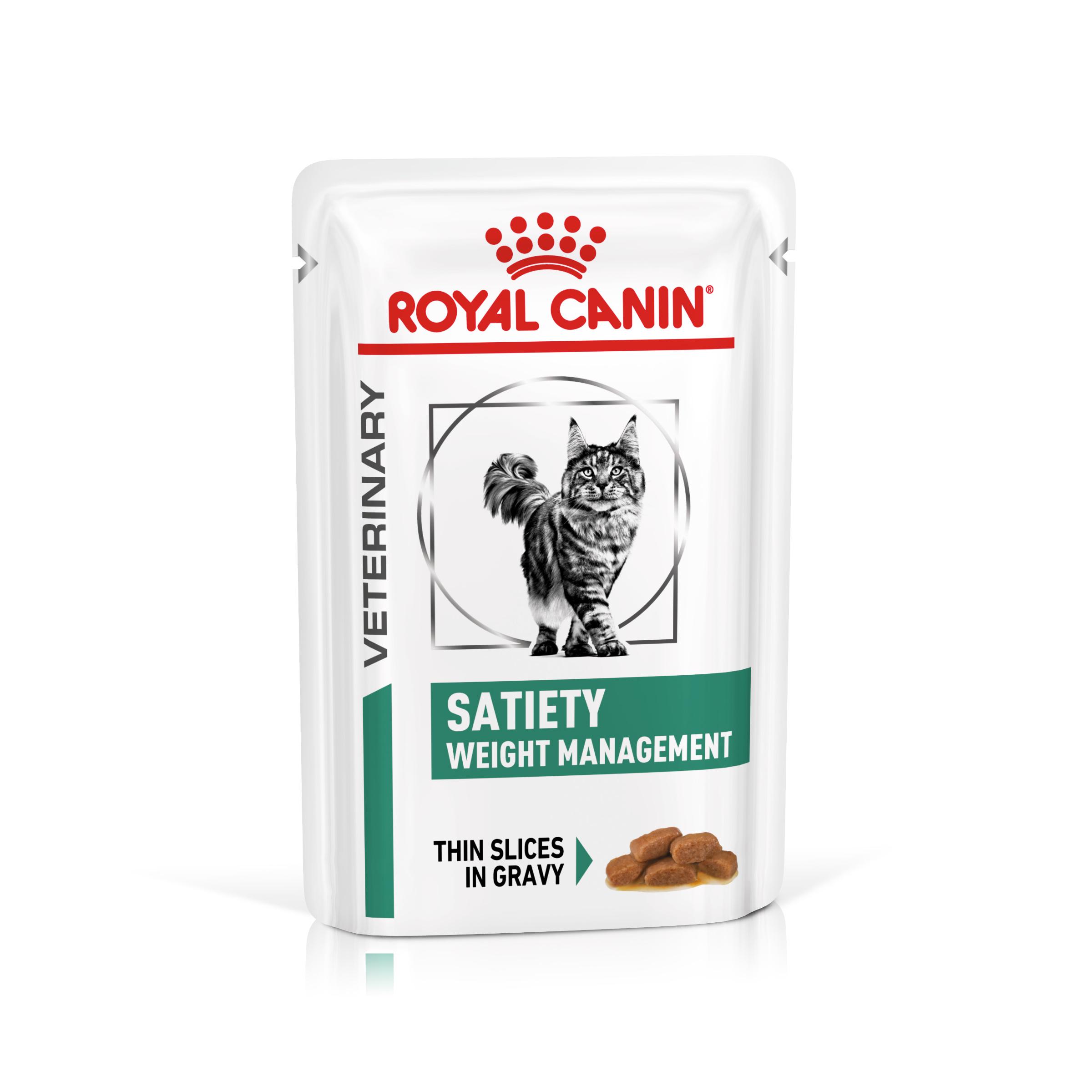 Royal Canin Veterinary Health Nutrition Cat SATIETY kapsa - 85g