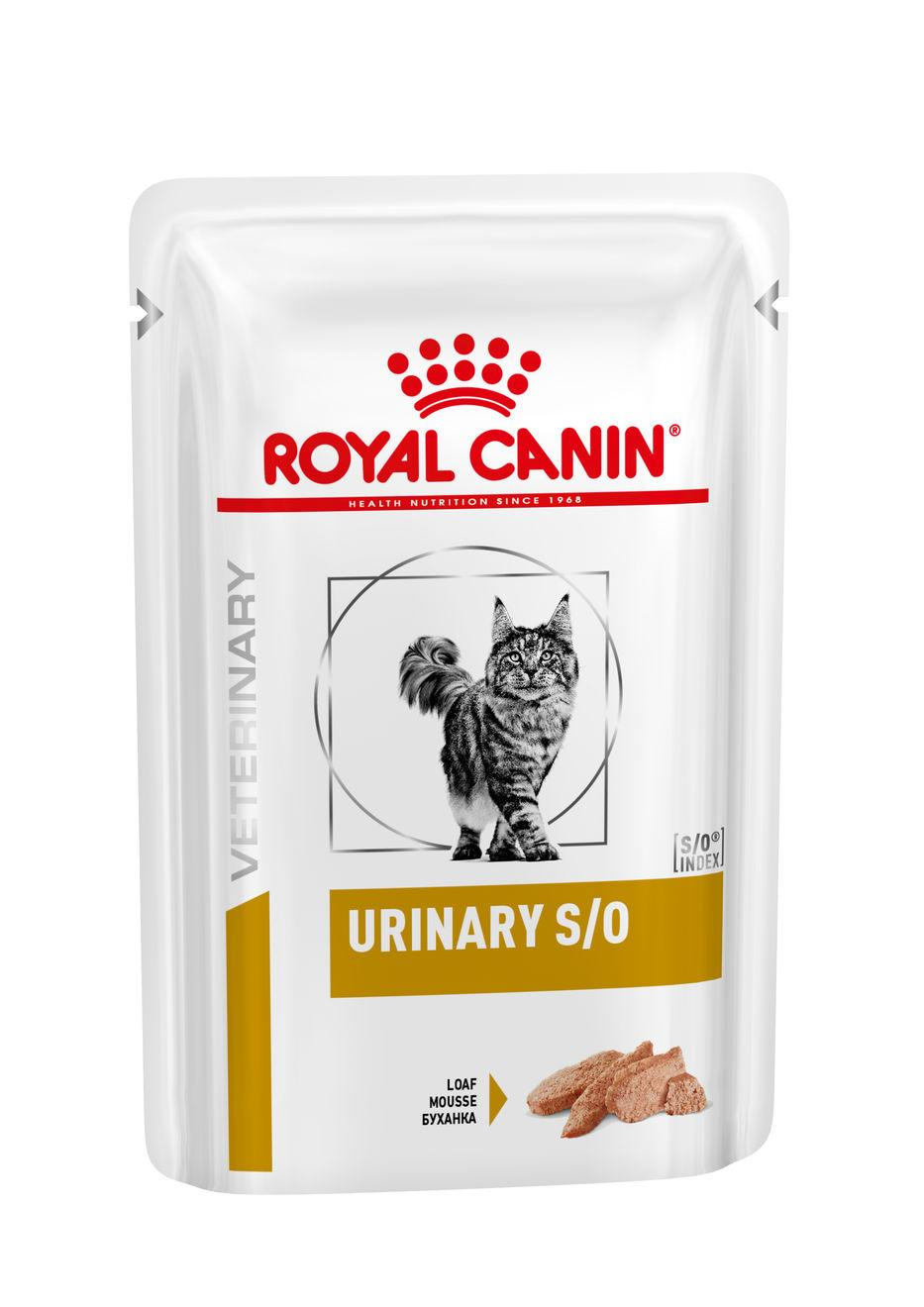 Royal Canin Veterinary Health Nutrition Cat URINARY S/O kapsa in Loaf - 85g