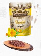 CARNILOVE cat  kapsa  KITTEN  RABBIT/marigold