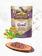 CARNILOVE cat  kapsa STERILISED  QUAIL/dandelion
