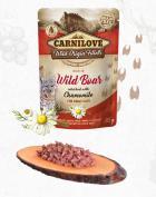 CARNILOVE cat kapsa ADULT WILD Boar/chamomile