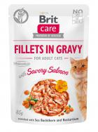 BRIT CARE cat kapsa ADULT  SAVORY salmon