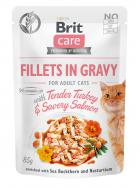 BRIT CARE cat kapsa  ADULT  TENDER turkey/salmon