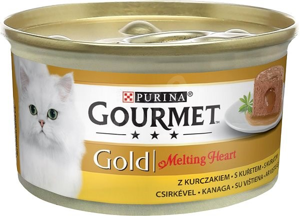PURINA GG  MELTING heart 85g - S kuřetem