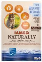 IAMS cat kapsa NATURALLY  ATLANTIC/herring