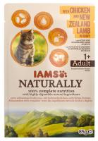 IAMS cat kapsa NATURALLY  CHICKEN/new zealand lamb