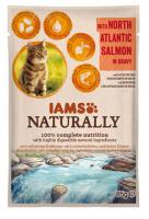 IAMS cat kapsa NATURALLY  NORTH atlantic salmon