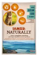 IAMS cat kapsa NATURALLY OCEAN cod