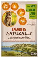 IAMS cat kapsa NATURALLY  NEW ZEALAND lamb