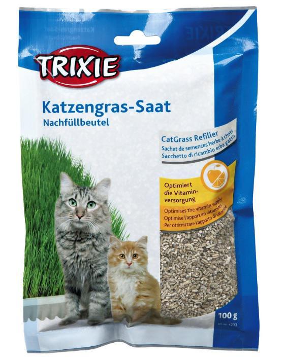BIOGRAS tráva pro koťata (sáček) (trixie) - 100g