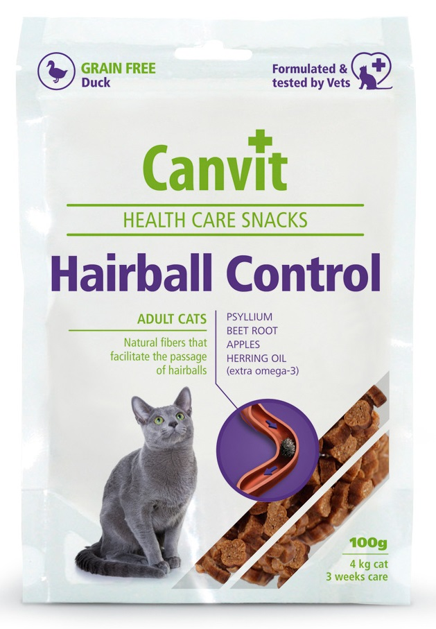 CANVIT cat   GF HAIRBALL control  duck
