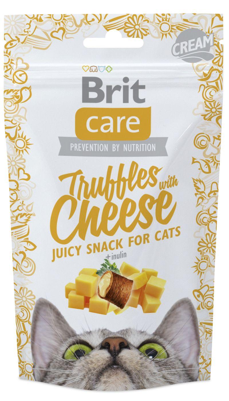 BRIT CARE cat SNACK TRUFFLES CHEESE - 50g