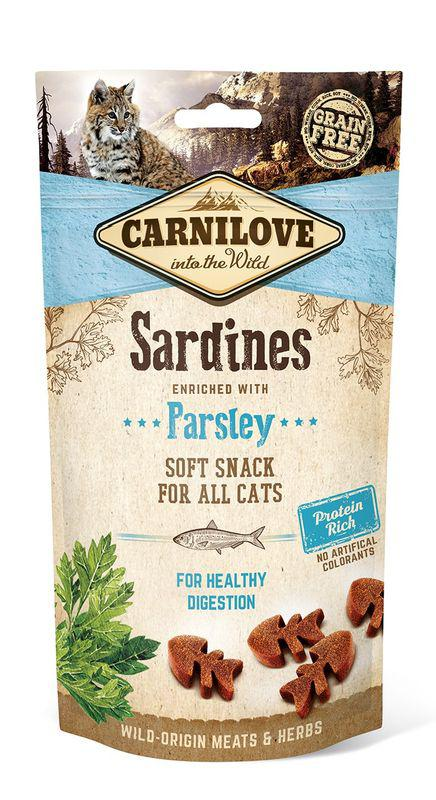 CARNILOVE cat SARDINES/parsley - 50g