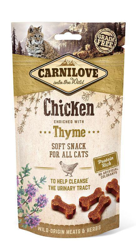 CARNILOVE cat CHICKEN/thyme - 50g