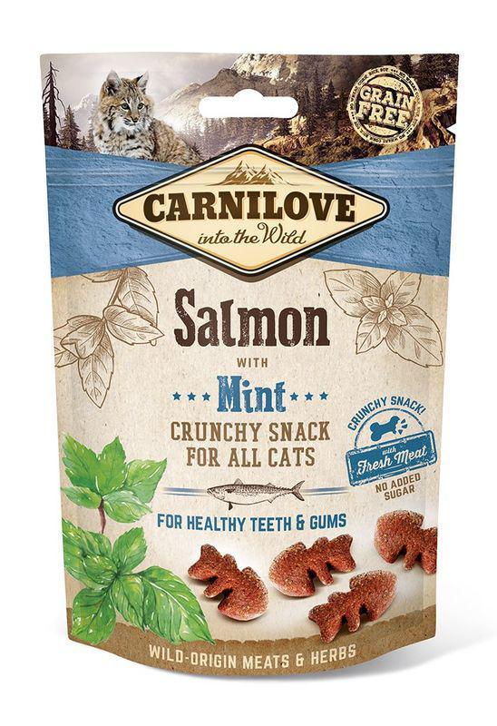 CARNILOVE cat SALMON/mint - 50g