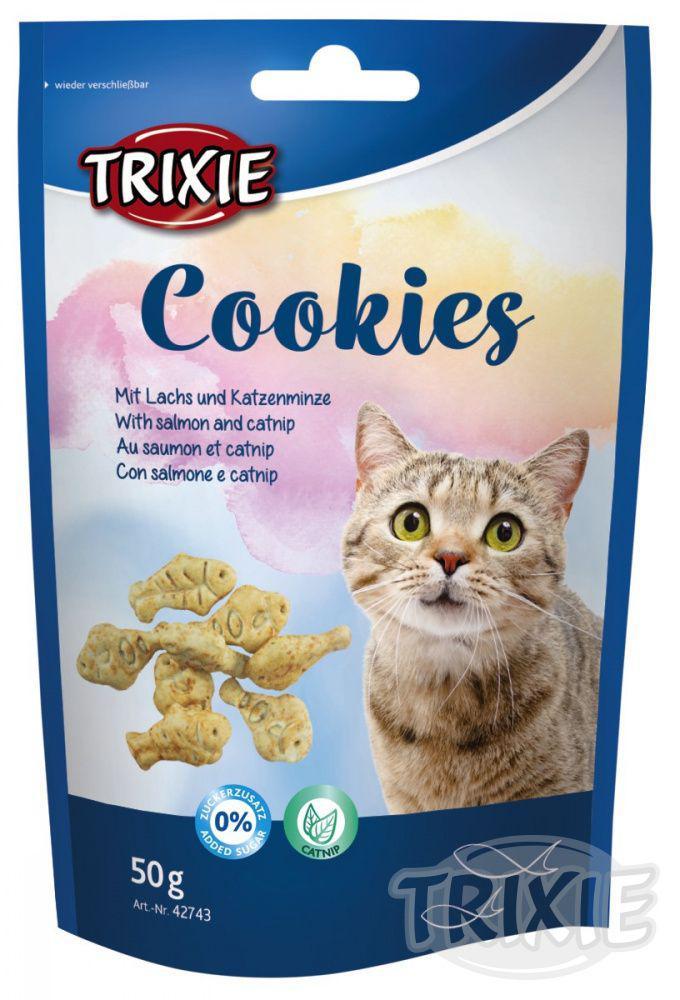 Cat pochoutka COOKIES (trixie) - 50g