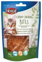 Cat pochoutka CATNIP CHICKEN BITES (trixie)