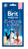 BRIT cat  premium  poch. CHICKEN/liver