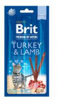 BRIT cat  premium  poch. TURKEY/lamb