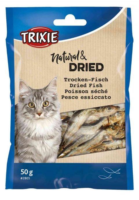 Cat pochoutka SUŠENÉ rybičky (trixie) - 50g