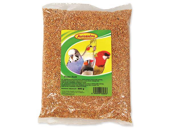 Avicentra   PROSO žluté - 1kg