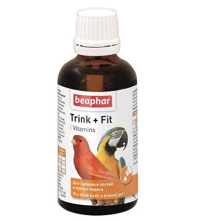 Beaphar ptáci TRINK + FIT pro ptáky - 50ml