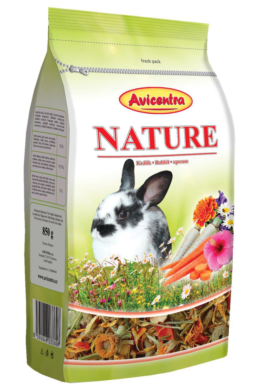 Avicentra NATURE králík - 850g