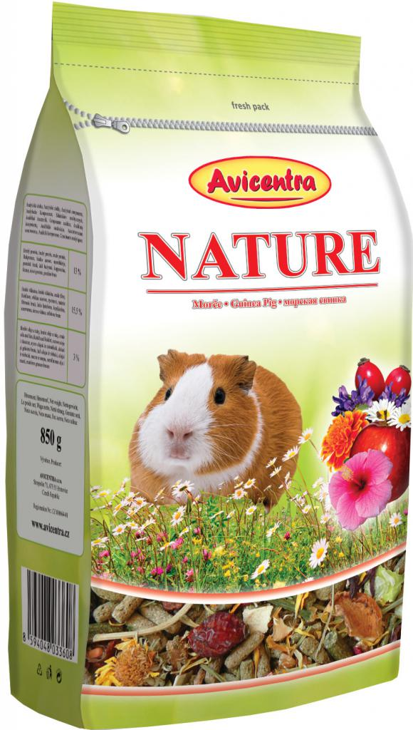 Avicentra NATURE morče - 850g