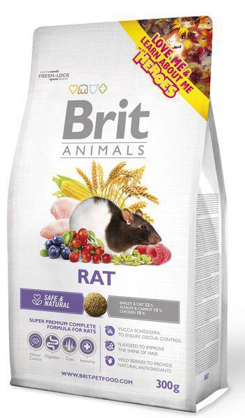 BRIT animals RAT complete - 300g