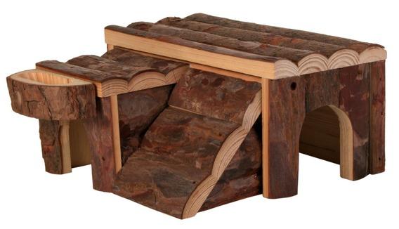 Dřevený domek LUKA pro křečka (trixie)