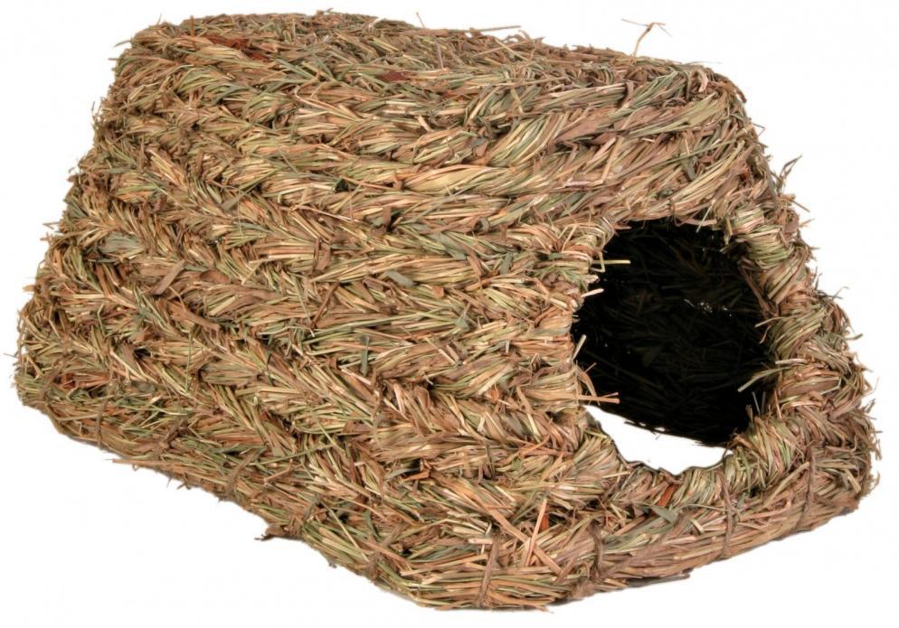 Trixie hlod. DOMEK z trávy - 18x13x28cm