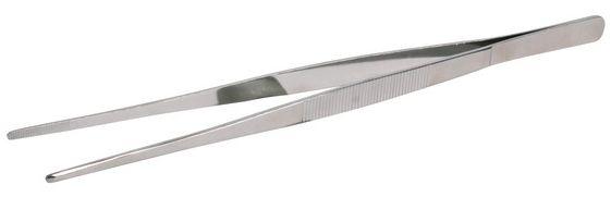PINZETA na krmení, tera, rovná (trixie) - 20cm