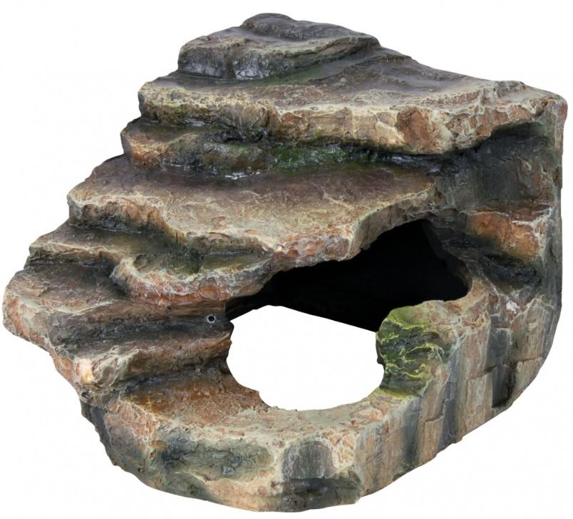 Tera SKÁLA rohová/s jeskyní (trixie) - 21x20x18cm
