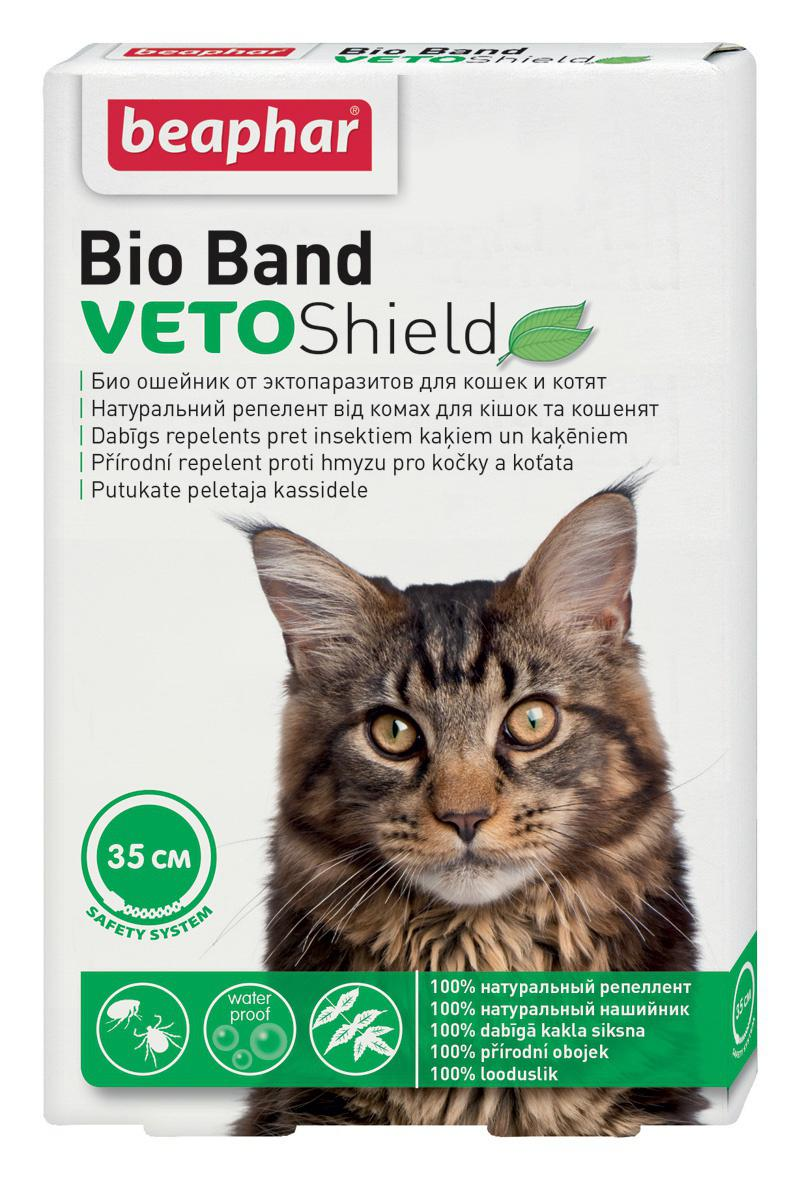 Beaphar  antiparazitní obojek CAT BIO BAND - 35cm