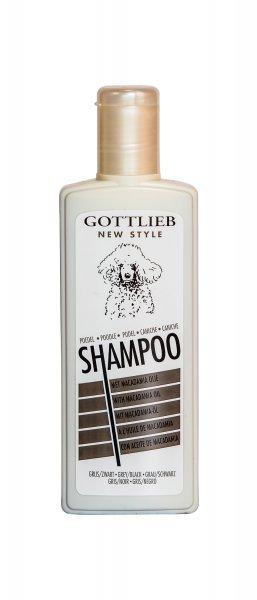 Šampon GOTTLIEB pudl ČERNÝ 300ml