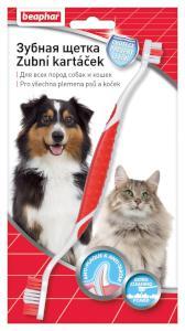 Beaphar dog Zubní kartáček oboustranný