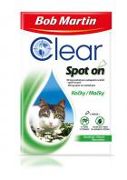 antipar. spot-on - (D) BOB MARTIN clear   CAT