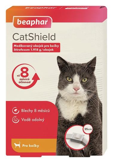 Antiparazitní obojek BEAPHAR CatShield pro kočky - 35cm