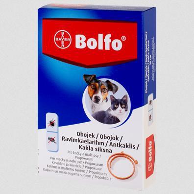 Antiparazitní obojok BOLFO - 70cm