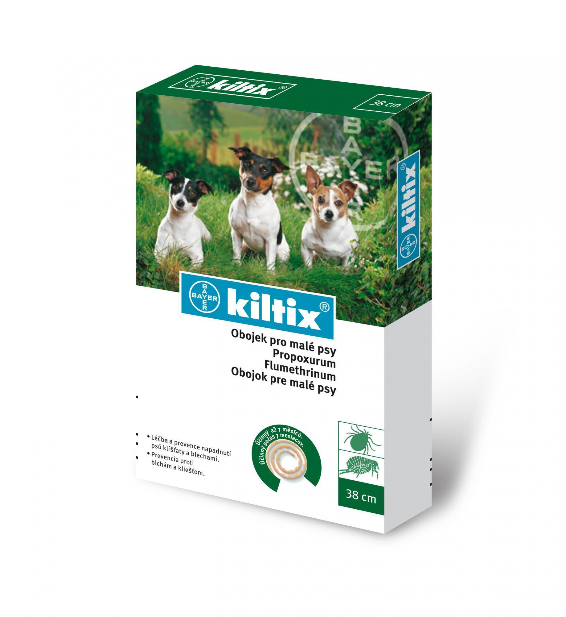 Antiparazitní obojek KILTIX - 53 cm