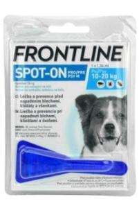 antiparazitní spot-on FRONTLINE dog