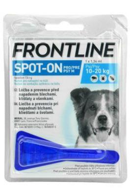 antiparazitní spot-on FRONTLINE dog - XL (40-60kg)