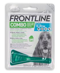 Antiparazitní spot-on FRONTLINE COMBO pro psy