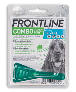 Antiparazitní spot-on FRONTLINE COMBO pro psy - XL (40-60kg)