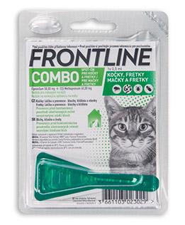 Antiparazitní spot-on FRONTLINE COMBO pro kočky - pro kočky
