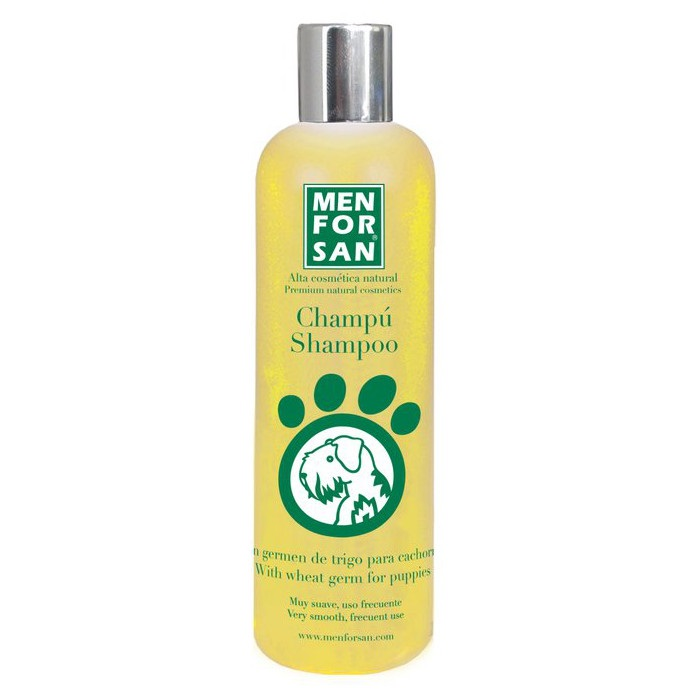 MENFORSAN šampon pro ŠTĚŇATA pšeničný kličky - 300 ml