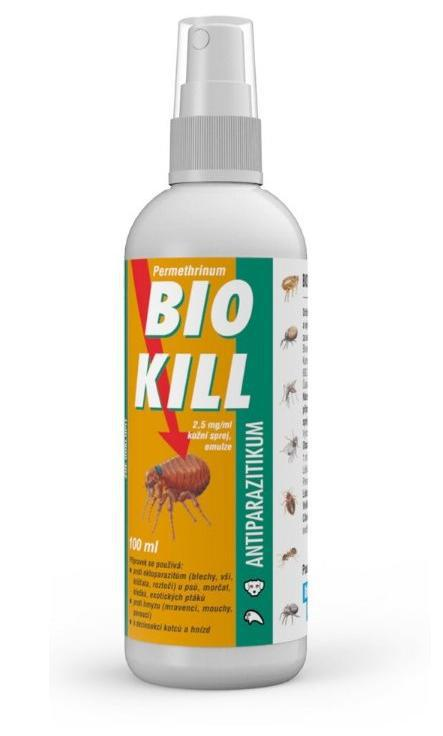 Antiparazitní spray BIO KILL