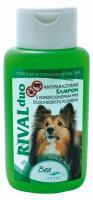 antipar. šampon  RIVAL DUO pro psy/dlouhá srst